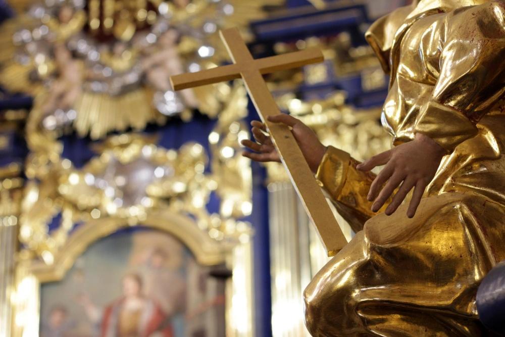 Galeria – wnętrze kościoła