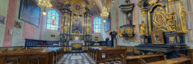 Panoramy 360 kościoła