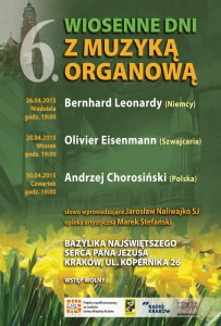 Wiosenne Dni z Muzyką Organową