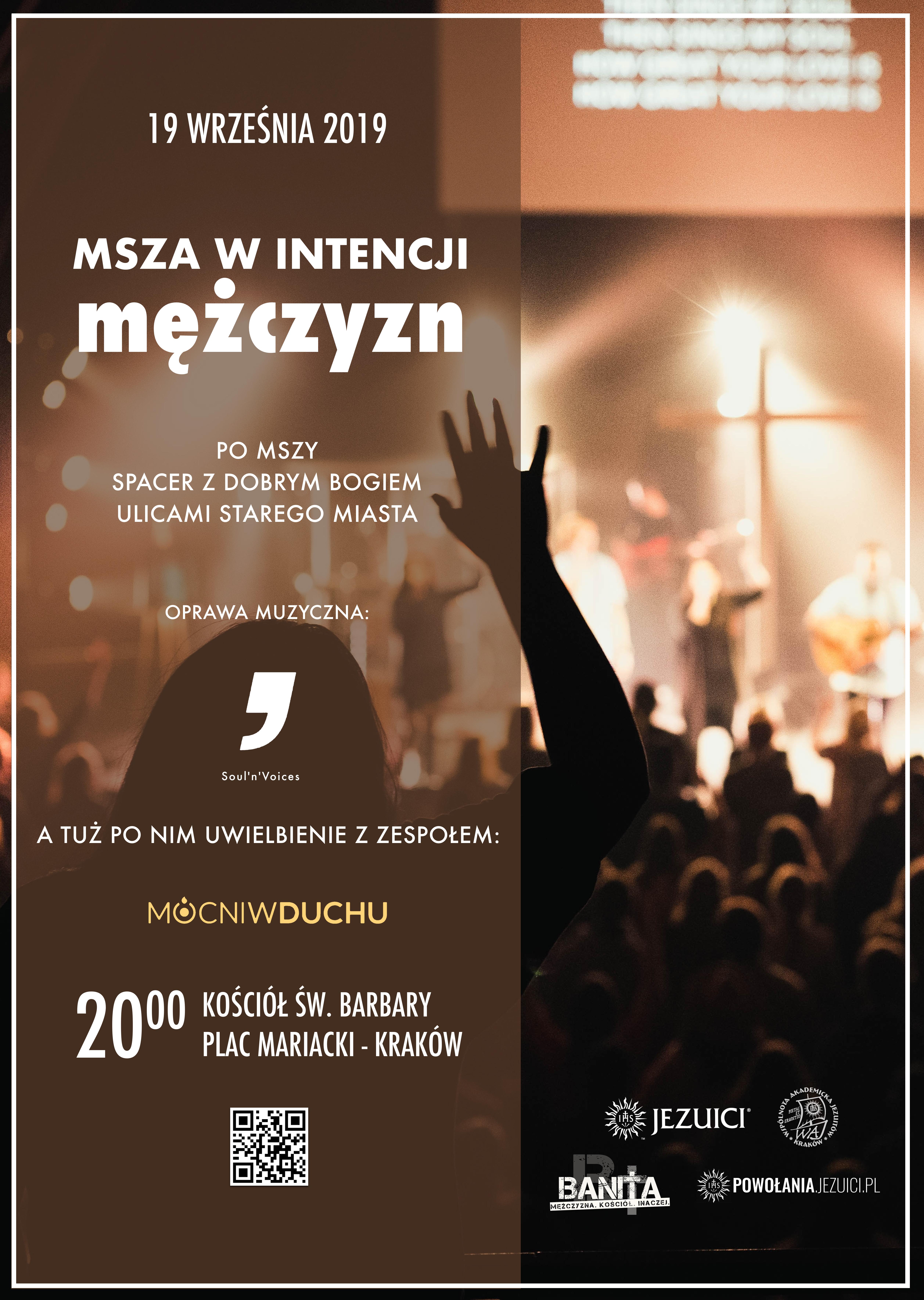 Msza w Intencji Mężczyzn – czwartek 19 września